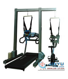 门架式减重步态训练器(电动、配专用慢速跑台和下肢功率车)